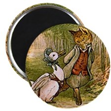 The Fox and Jemima Puddle-Duck Magnets