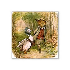 The Fox and Jemima Puddle-Duck Sticker