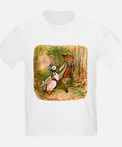 The Fox and Jemima Puddle-Duck T-Shirt
