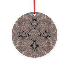 Fractal 665 Round Ornament