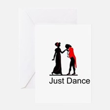 Just Dance Greeting Cards