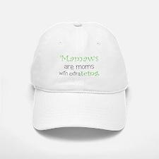 Mamaws with extra icing Baseball Baseball Cap