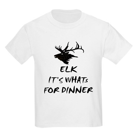 elk its whats for dinner Kids T-Shirt