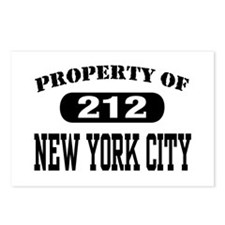 Property of 212 New York City Postcards (Package