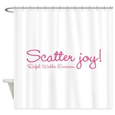 Scatter Joy Shower Curtain