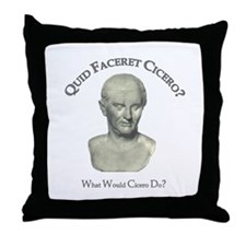 What Would Cicero Do? Throw Pillow