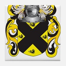 Purcell Coat of Arms (Family Crest) Tile Coaster