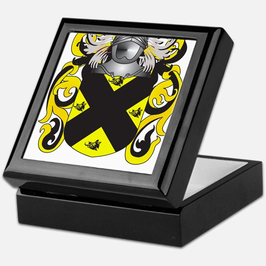Purcell Coat of Arms (Family Crest) Keepsake Box