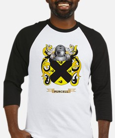 Purcell Coat of Arms (Family Crest) Baseball Jerse