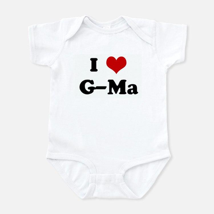 I Love G-Ma Infant Bodysuit