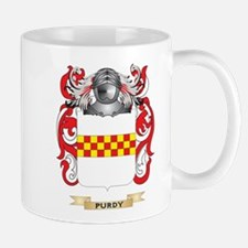 Purdy Coat of Arms (Family Crest) Mugs
