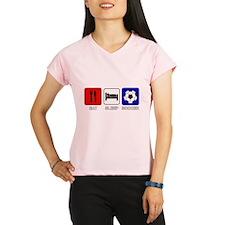 EAT SLEEP SOCCER Performance Dry T-Shirt