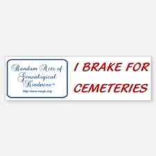 RAOGK Genealogy Bumper Bumper Bumper Sticker