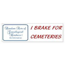 RAOGK Genealogy Bumper Bumper Sticker