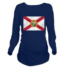 State Flag of Florida Long Sleeve Maternity T-Shir