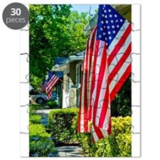 American Flags Puzzle