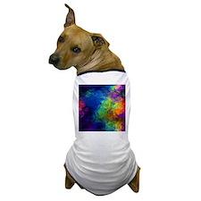 Midnight Aurora Dog T-Shirt