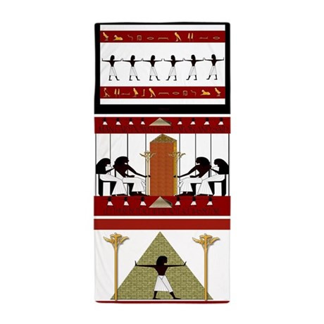 Egyptian Home Decor Beach Towel By Cheylines