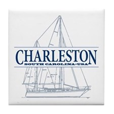 Charleston SC - Tile Coaster