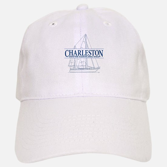 Charleston SC - Baseball Baseball Cap