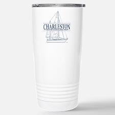 Charleston SC - Stainless Steel Travel Mug