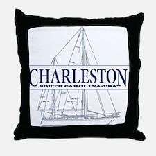 Charleston SC - Throw Pillow