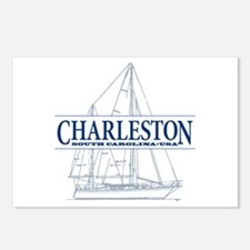 Charleston SC - Postcards (Package of 8)