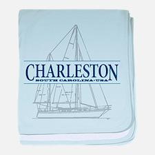 Charleston SC - baby blanket