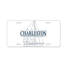 Charleston SC - Aluminum License Plate