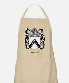 Quayle Coat of Arms (Family Crest) Apron