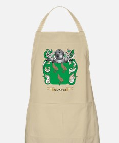 Quayle 2 Coat of Arms (Family Crest) Apron