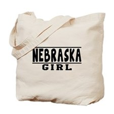 Nebraska Girl Designs Tote Bag