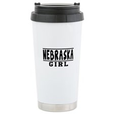Nebraska Girl Designs Travel Mug