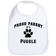 Puggle: Proud parent Bib