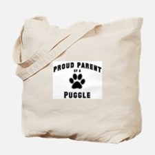 Puggle: Proud parent Tote Bag