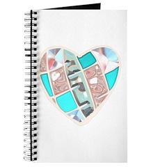 Glass Chrome Heart Journal