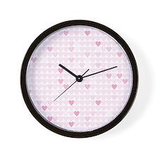 LOVEHEARTS Wall Clock