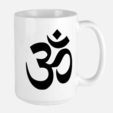 Black Om Symbol Mugs
