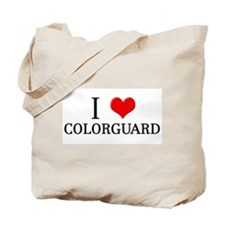 I Heart Colorguard Tote Bag