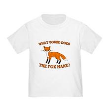 fox Vulpes vulpes T-Shirt