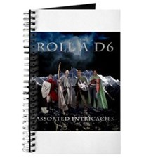 Roll A D6 Cover Journal