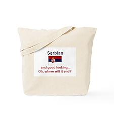 Good Looking Serbian Tote Bag