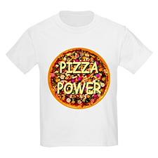 Pizza Power Kids T-Shirt