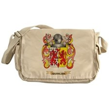 Quinlan Coat of Arms (Family Crest) Messenger Bag