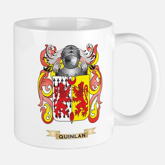 Quinlan Coat of Arms (Family Crest) Mugs
