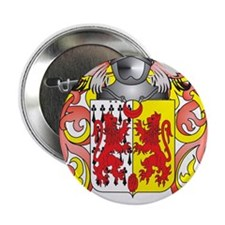 """Quinlan Coat of Arms (Family Crest) 2.25"""" Button"""