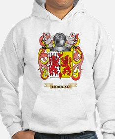 Quinlan Coat of Arms (Family Crest) Hoodie