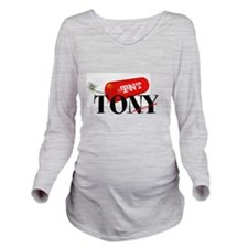 Cute Currency Long Sleeve Maternity T-Shirt