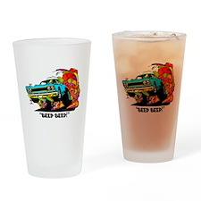 Beep Beep Drinking Glass