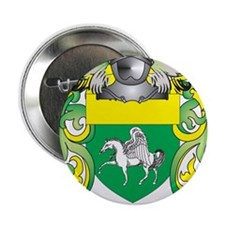 "Quinn Coat of Arms (Family Crest) 2.25"" Button"